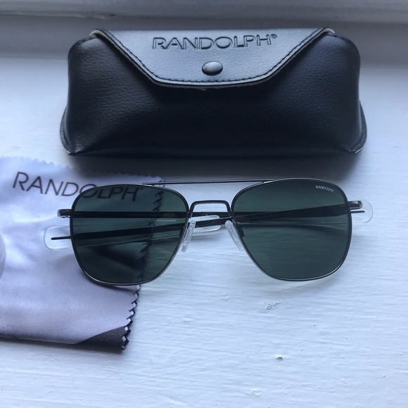 592c40c861 Randolph Engineering    Aviator Sunglasses. M 5be73f3e3e0caaec13353268